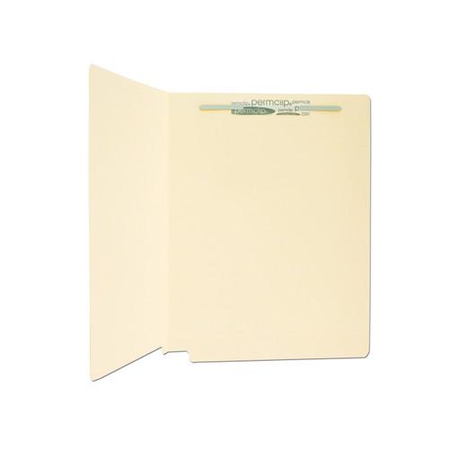 Medical Arts Press Match 11pt Full Cut End Tab Folders with 1 Permclip Fastener (250/Carton)