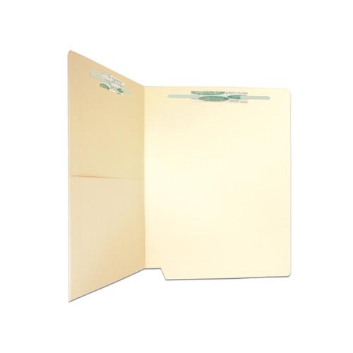 Medical Arts Press Match Manila End Tab Pocket Folders with 2 Permclip Fasteners (50/Box)