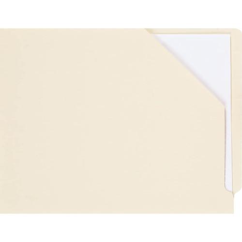 Medical Arts Press Match End Tab Slant File Pockets- Manila (100/Box)