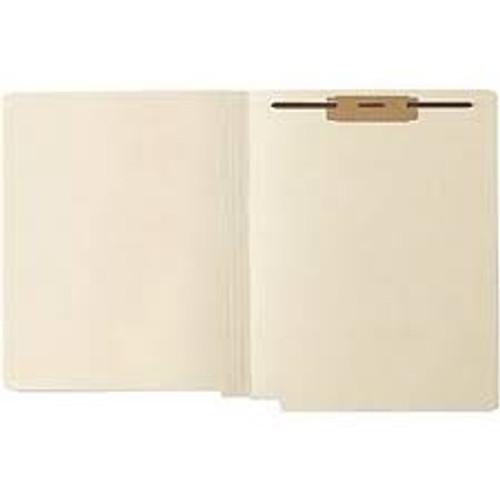 Medical Arts Press Match 11pt Full Cut End Tab Folders with 1 Permclip Fastener (50/Box)