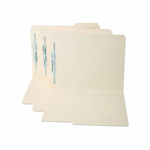 Medical Arts Press Match Top Tab Manila File Folders with 1 Permclip Fastener- Letter Size, 1/3 Cut (50/Box)