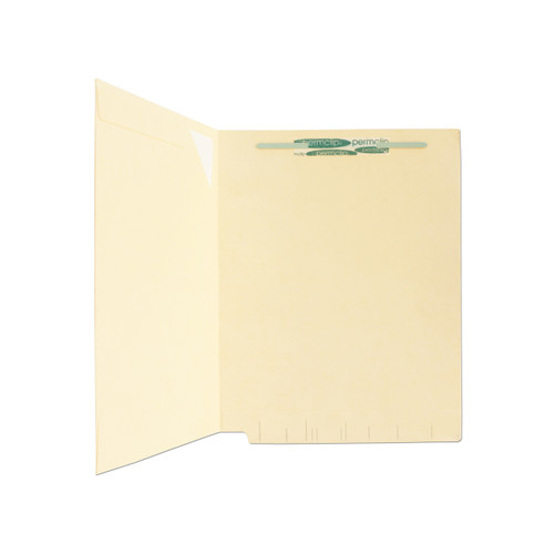 Medical Arts Press Match End Tab Folders with Full Corner Pocket and 1 Permclip Fastener (50/Box)