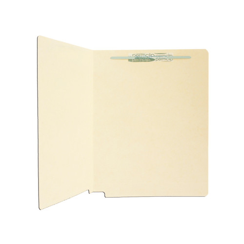 Medical Arts Press Match 14pt Full Cut End Tab File Folders with 1 Permclip Fastener (50/Box)