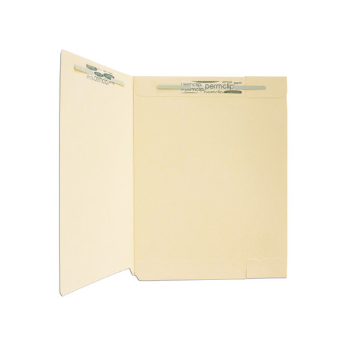Medical Arts Press Match End Tab Folders with Double Back Pockets and 2 Permclip Fasteners (50/Box)