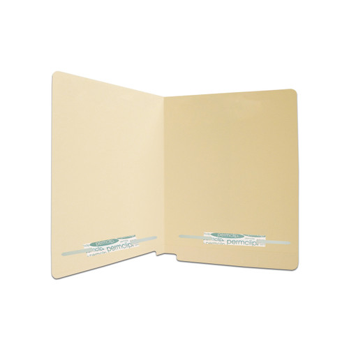 Medical Arts Press Match Full Cut End Tab File Folders with 2 Permclip Fasteners in Position 2 and 4 (50/Box)