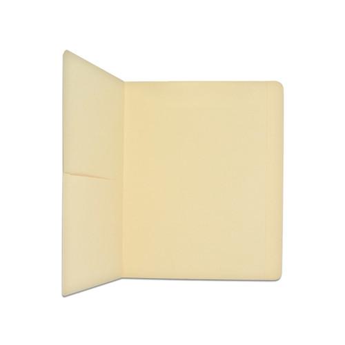 Medical Arts Press Match Letter Size Top Tab Manila File Folders with Half Pocket (50/Box)