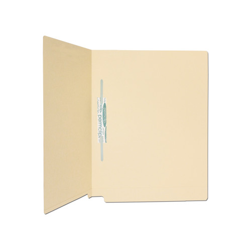 Medical Arts Press Match 14pt Full Cut End Tab File Folders with 1 Permclip Fastener in Position 5- Letter Size (250/Carton)