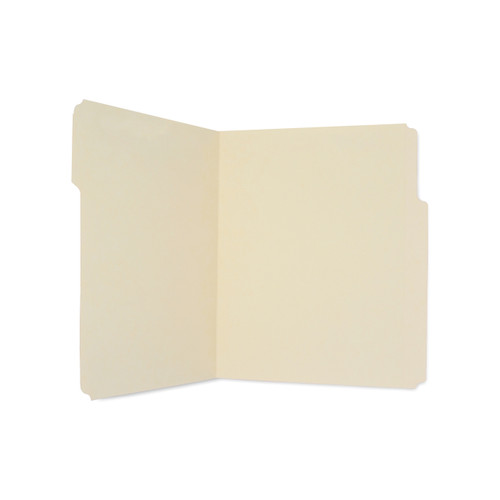 Medical Arts Press Match Letter Size Top Tab Manila File Folders with 8 Inch Tabs (100/Box)