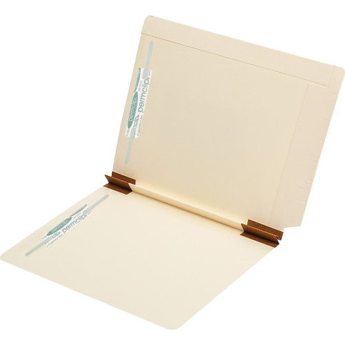Medical Arts Press Match Heavy Duty Expansion Folders with 2 Permclip Fasteners- 14pt (50/Box)