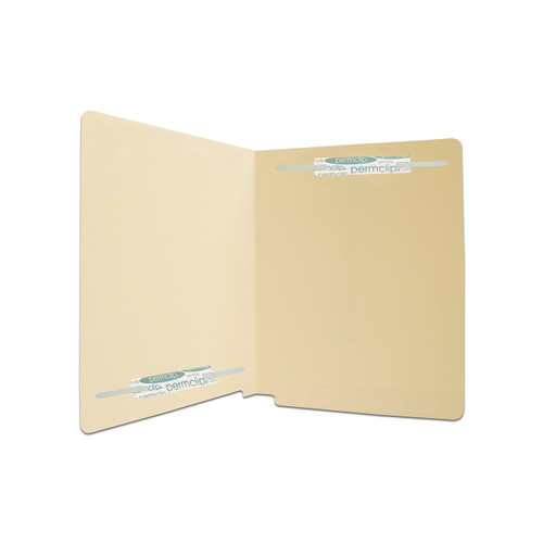 Medical Arts Press Match Full Cut End Tab File Folders with 2 Permclip Fasteners in Position 1 and 4 (50/Box)
