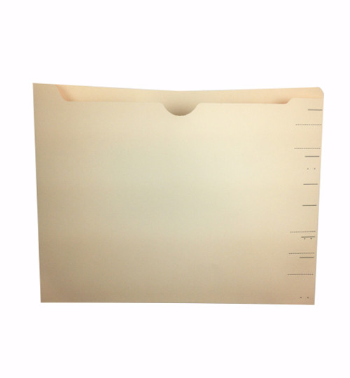 Medical Arts Press Match WaterShed Cutless End Tab Drop Top File Pockets- Manila (100/Box)
