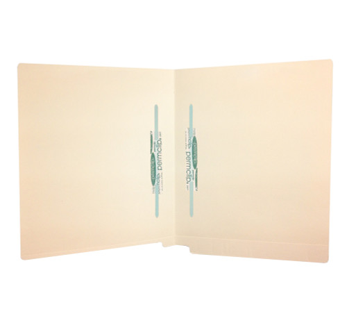 Medical Arts Press Match Full Cut End Tab File Folders with 2 Permclip Fasteners in Position 5 and 6 (50/Box)