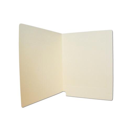 Medical Arts Press Match Reinforced End Tab Folders- Manila, 14pt (50/Box)