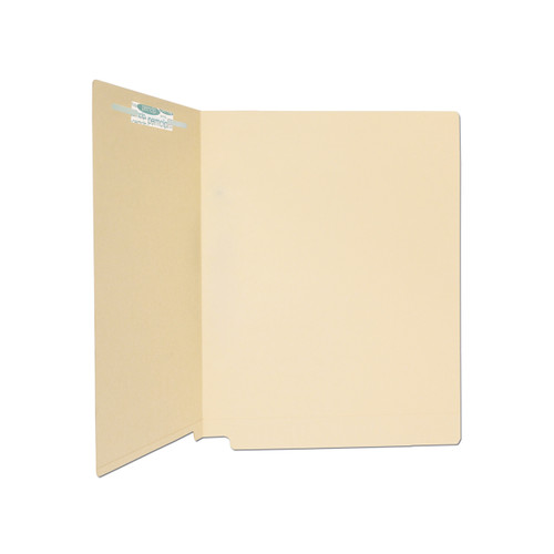 Medical Arts Press Match Full Cut End Tab File Folders with 1 Permclip Fastener in Position 3- 14pt (50/Box)