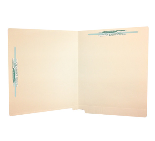Medical Arts Press Match Full Cut End Tab File Folders with 2 Permclip Fasteners in Position 1 and 7 (50/Box)