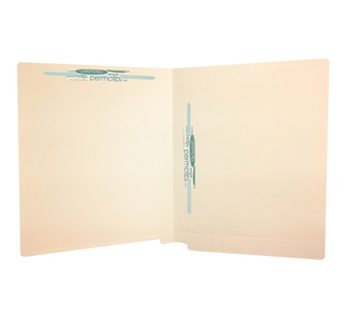 Medical Arts Press Match Full Cut End Tab File Folders with 2 Permclip Fasteners in Position 3 and 5 (50/Box)