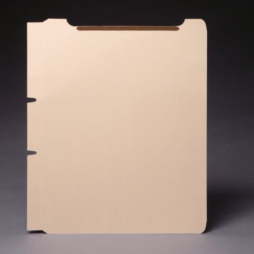 """Self Adhesive Divider with 1"""" Twin-Prong Fasteners on Top (both sides) - 11 Pt. Manila - 100/Box"""