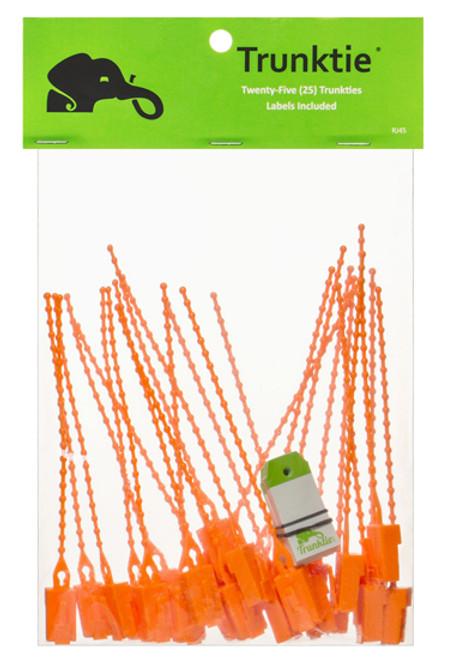 Trunktie Labels Pack (Orange)