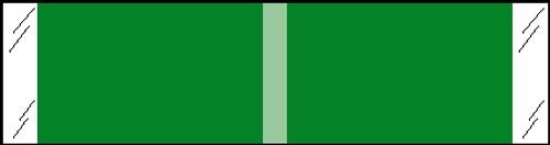 "Tabbies® Kardex Compatible Solid Color Designator Labels, Light Green, 3/8""H x 1-7/16""W, 1,000 Labels/Roll"