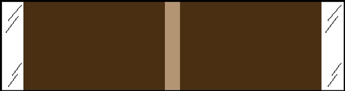 """Tabbies® Kardex Compatible Solid Color Designator Labels, Brown, 3/8""""H x 1-7/16""""W, 1,000 Labels/Roll"""