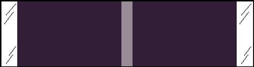 "Tabbies® Kardex Compatible Solid Color Designator Labels, Violet, 3/8""H x 1-7/16""W, 1,000 Labels/Roll"
