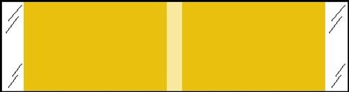 "Tabbies® Kardex Compatible Solid Color Designator Labels, Tan, 3/8""H x 1-7/16""W, 1,000 Labels/Roll"