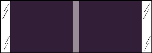 "Tabbies® Kardex Compatible Solid Color Designator Labels, Violet, 1/2""H x 1-7/16""W, 1,000 Labels/Roll"