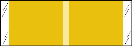 "Tabbies® Kardex Compatible Solid Color Designator Labels, Tan, 1/2""H x 1-7/16""W, 1,000 Labels/Roll"