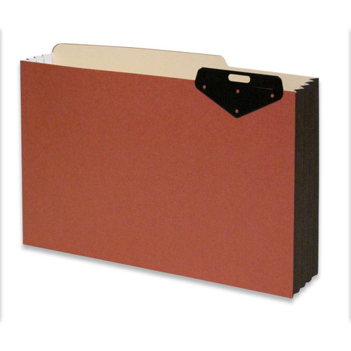 """Redweld Top Tab File Pocket with Metal Tabs at Top - Legal Size 10"""" H x 15"""" W with 3-1/2"""" Expansion  - Carton of 50"""