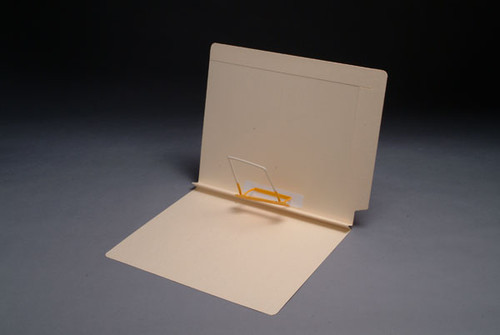 """Expansion Folder - Reinforced Top and End Tab - 14 PT. Manila - Letter Size - 1-1/2"""" Expansion - Spaceclip Fastener in Position 5 - 50/Box"""