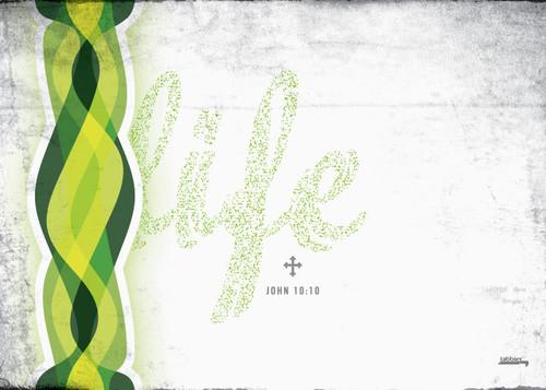 "Tabbies GearSkins - Life, White/Green, 15"" Laptop skin"