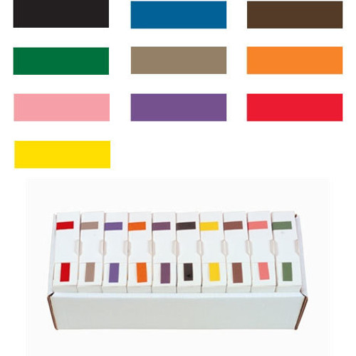 IFC Solid Color Labels - 8100 (ISAP) Series (Rolls) - Black