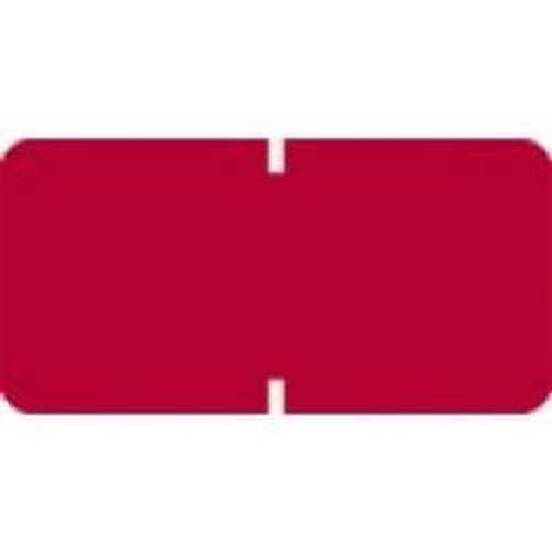 TAB Solid Color Label - 1281 Series (Rolls) - 1000/Roll - Red