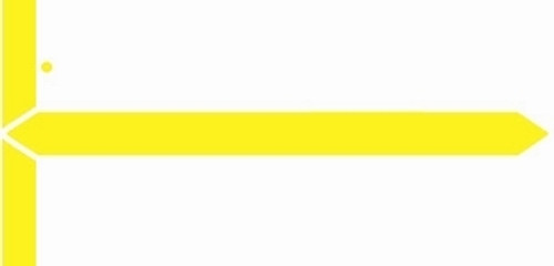 GBS Name Label (Pack of 500) - Yellow - 8852 Series