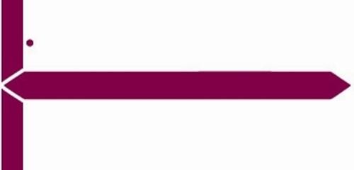 GBS Name Label (Pack of 500) - Purple - 8852 Series