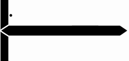 GBS Name Label (Pack of 500)-Black -8852 Series