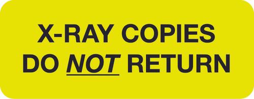 """""""X-RAY COPIES"""" - FL. CHARTREUSE -  1-5/8 X 7/8 - 420/BX"""