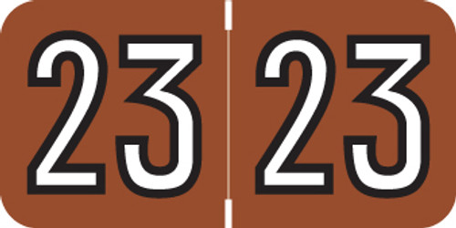 2023 BROWN/WT/BLK.3/4 500