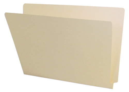 Barkley Compatible End Tab Folder - 14 Pt. Manila - Single Ply Tab - Letter Size - 100/Box