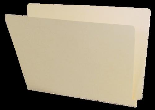 Barkley Compatible End Tab Folder - 14 Pt. Manila - Single Ply Tab - Letter Size - 100/Box