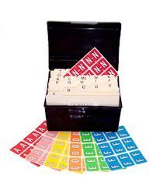 Barkley Systems Alphabetic Labels - BRPK-DSET Series (Sheets) File Box, Indexes, 2,034 Labels
