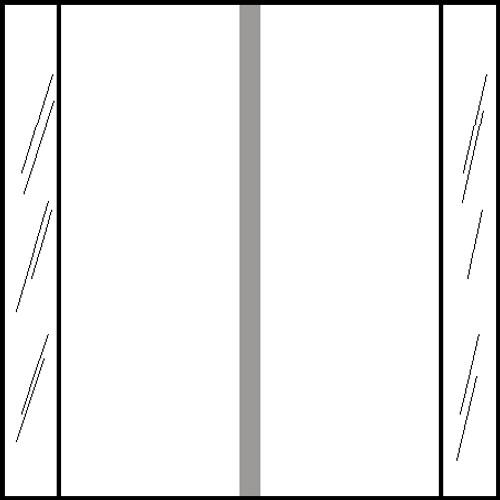 "Tabbies 11610 - ORIGINAL COL'R'TAB® SOLID COLOR DESIGNATOR 11600 SERIES, 1-1/2"" SOLID DESIGNATOR TABS, WHITE, 1-1/2""H x 1-1/2""W, 500/ROLL"