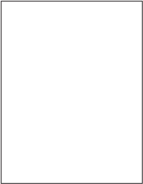 """Tabbies 40165 - AVERY COMPATIBLE LASER/INKJET BLANK LABEL SHEETS, LASER/INKJET LABEL SHEETS, AVERY MATCH #5165, BLANK WHITE, 11""""H x 8-1/2""""W, 100 LABELS/PACK"""