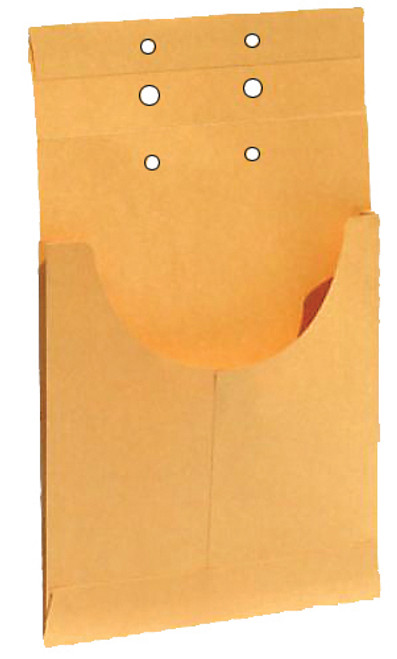 "Tabbies 54460 - EXPANDING DIVIDER POCKET, DIVIDER POCKET, KRAFT, 1"" EXPANSION, 100/BOX"