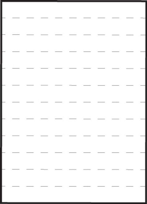 "Tabbies 59530 - MEDICAL TRANSCRIPTION LABELS, 1"" STRIPS, PERF-THRU, WHITE, 8-1/2""W x 11""H SHEET, 100/BOX"