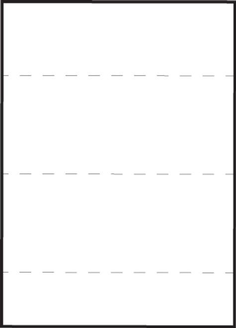 "Tabbies 59532 - MEDICAL TRANSCRIPTION LABELS, 3-1/2"" STRIPS, PERF-THRU, WHITE, 8-1/2""W x 11""H SHEET, 100/BOX"