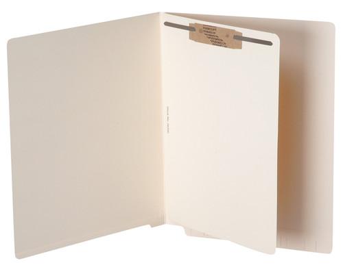 "Tabbies 263301 - SELF-ADHESIVE DIVIDER SHEETS, SELF-STICK DIVIDER SHEET FASTENER POSITION #1, MANILA, 8-1/2""W x 11""H, 100/BOX"