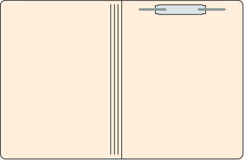 "Tabbies 566001 - FILE FOLDERS, 11PT 1-PLY LETTER SIZE FOLDER, FASTENER IN POSITION #1, MANILA, 9-1/2""H x 11-3/4""W, 250/CASE"