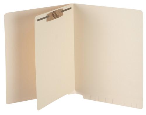 "Tabbies 2633013 - SELF-ADHESIVE DIVIDER SHEETS, SELF-STICK DIVIDER SHEETS FASTENER IN POSITION #1 & #3, MANILA, 8-1/2""W x 11""H, 100/BOX"