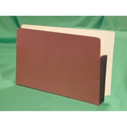 "Tabbies E1524EP - END-TAB EXPANSION POCKETS, 5 PIECE END TAB PREMIUM EXPANSION POCKET PAPER GUSSET, RED ROPE, 9-1/2""H x 12-1/2""W x 3-1/2""D, 50/CASE"